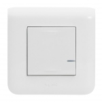 Commande Filaire connecté - Option Variation - Blanc - Mosaic with Netatmo - Legrand 077701