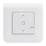 Commande de volets roulants sans fil connectée - Blanc - Legrand Mosaic 077746