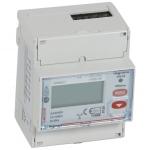 Compteur - 63A - Triphasé - 4 Modules - Mesure direct - RS485 - Legrand 004683