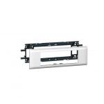 Support 6 modules Mosaic pour goulotte DLP avec couvercle de 65 mm - Legrand 010956
