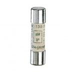 Fusible cartouche cylindrique 10x38 mm 8 Ampères