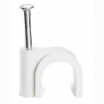 Attache pontet - Legrand Fixfor - Pour Câble rond - 6 mm - Blanc