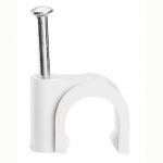 Attache pontet - Legrand Fixfor - Pour Câble rond - 9 mm - Blanc