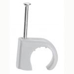 Attache pontet - Legrand Multifix - Pour Câble rond - 7 à 10 mm - Gris