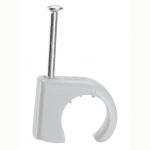 Attache pontet - Legrand Multifix - Pour Câble rond - 14 à 20 mm - Gris