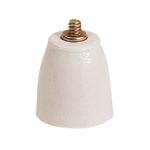 Isolateur en porcelaine pour bornes 40 et 75 mm²