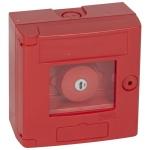 Coffret coup de point - Rouge - A clé - Legrand 038003