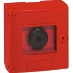 Coffret coup de point - Rouge - 125 x 125 mm - Legrand 038011