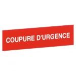 Etiquette - Coupure d'urgence - Legrand 0380924