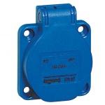 Prise tableau 16 Ampères 2P+T IP54 bleu - Legrand 57667