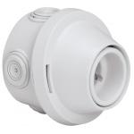 Support plexo avec douille culot B22 - Montage droit ou incliné