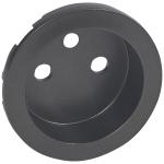 Enjoliveur - Prise de courant 2P+T - Legrand Céliane - Graphite