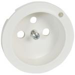 Enjoliveur - Prise de courant 2P+T à voyant - Legrand Céliane - Blanc