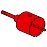 Scie cloche carbure de tungstène diamètre 32 mm