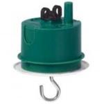 Boite maconnerie luminaire centre profondeur 50 mm Legrand Batibox avec DCL