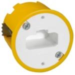 Boite cloison sèche luminaire applique profondeur 50 mm Legrand Batibox avec DCL