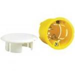 Boîte cloison sèche luminaire applique profondeur 40 mm Legrand Batibox