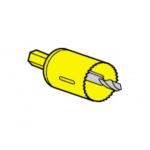Scie cloche diamètre 40 mm pour boîte applique Legrand Batibox