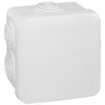 Boite de dérivation étanche 80 x 80 x 45 mm Legrand Plexo blanc
