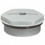 Bouchon plastique Legrand - ISO 25 - Gris RAL 7001