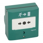 Dispositif de commande pour issue de secours - 2 Contacts - Legrand 138048