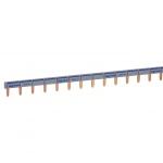 Peigne de cablage phase ou neutre 57 modules Legrand HX³