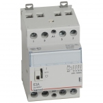Contacteur Legrand CX3 63A 4 contacts NO bobine 230 Volts - CM