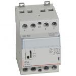 Contacteur Legrand CX3 63A 4 contacts NO bobine 230 Volts - CM