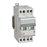 Interrupteur Inverseur double - 2 Contacts - 32 Ampères - Legrand CX³