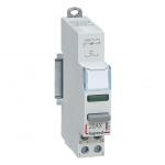 Interrupteur à Poussoir avec voyant - 12 / 48 Volts - Vert - Legrand CX³