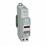 Interrupteur à Poussoir avec voyant - 12 / 48 Volts - Rouge - Legrand CX³