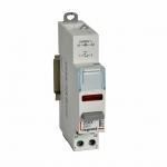 Interrupteur à Poussoir avec voyant - 110 / 400 Volts - Rouge - Legrand CX³