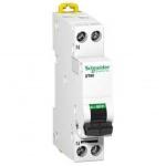 Disjoncteur Phase + Neutre - Schneider Prodis DT40 - 16 Ampères - Courbe C - A9N21025