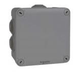 Boite de dérivation - A embout - 105 x 105 x 55 mm - Schneider electric ENN05005
