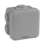 Boite de dérivation - A embout - 65 x 65 x 45 mm - Blanc - Schneider electric ENN05032