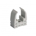 Clips - Mureva Clip - Pour tube diamètre 20 mm - Gris - Schneider electric ENN45120