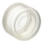 Capuchon silicone - Pour tête bouton dépassant ronde - Schneider ZBP0