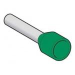 Embout de cablage - Surmoulé - 0.34 mm² - Vert - Schneider electric DZ5CE003