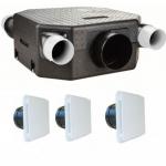 Kit VMC - FLAT DECO DHU /  BDO - Unelvent 603126