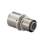 Manchon à sertir - Réduit - Composite - 50 vers 40 mm - Pour tube multicouche - Uponor 1046406