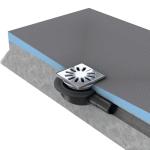Ecoulement pour receveur à carreler - Wedi Fundo Primo extra-plat Mini Max DN 40 - Wedi 077000015