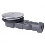 Bonde de douche - Slim Extra Plate - Pour receveur de douche - Diamètre 90 mm - Wirquin 30719686