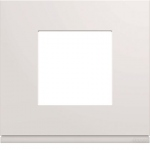 Plaque - 1 poste - Pure - Hager Gallery WXP0002