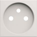 Enjoliveur - Prise de courant - 2P+T - Pure - Hager Gallery WXD100B