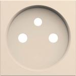 Enjoliveur - Prise de courant - 2P+T - Dune - Hager Gallery WXD100D