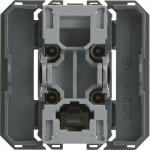 Interrupteur - Va et vient - BP - 2 Modules - Hager Gallery WXF003