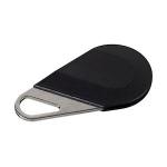 Badge de proximité - Système Hexact - Type porte clé - Noir - Aiphone HECV2N