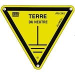 Triangle - Alu - TERRE DU NEUTRE - 100 mm - CATU AM-345