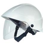 Casque avec écran faciale intégré - Blanc - CATU MO-185-BL