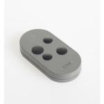 Télécommande - 4 Canaux - Double fréquence - Code fixe - Gris - Came 806TS-0100